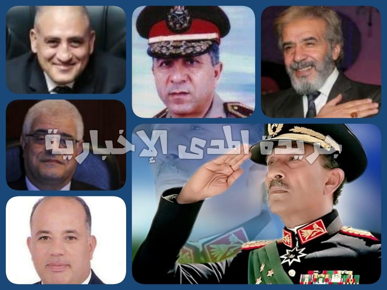 جمعية محبى الأطرش تكرم اسم الرئيس السادات ومفيد عاشور وكوكبة من أبطال النصر