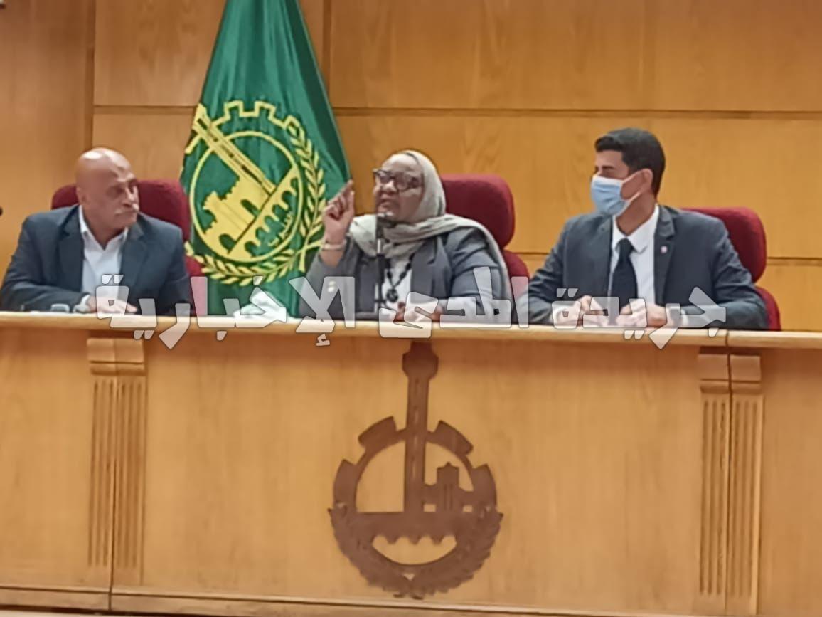 نائب محافظ القليوبية يرأس إجتماع وحدة السكان بالمحافظة